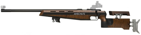 ANS 1907L W/WALNUT STOCK W/4759 BUTT PLATE (LEFT) 000139