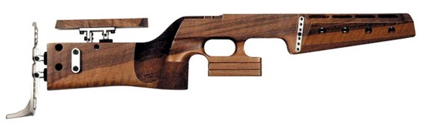 1827F-8000 BIATHLON FORTNER WALNUT STOCK ONLY (RIGHT) 009792