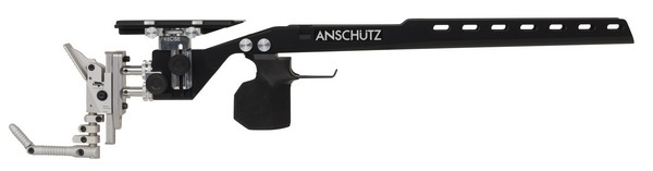 ANS 2018 ALUM PRECISE STOCK ONLY (BLACK)(LARGE GRIP)(RIGHT) 010835
