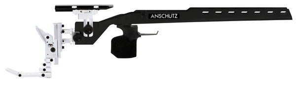 ANS 1918 ALUM PRECISE STOCK ONLY (BLACK) (MED GRIP)(RIGHT) 010840