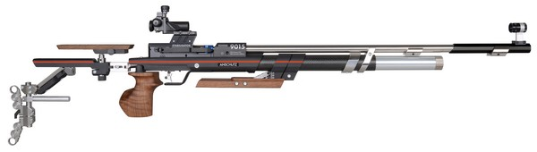 "ANS 9015 IN STOCK ""ONE"" AIR RIFLE W/ 6805 SIGHTS (MED-RIGHT) 014024"