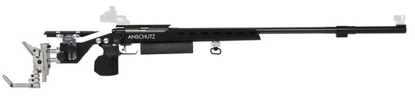 ANSCHUTZ 54.30 IN STOCK 1918 .22LR RIFLE (BLACK)(LG RIGHT) 014058