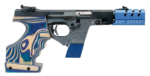 WALTHER GSP EXPERT .32CAL MATCH PISTOL (LG-RIGHT) 2662345