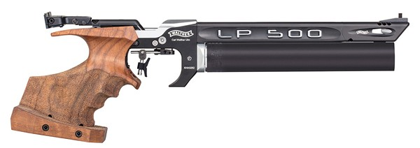 WALTHER LP500 EXPERT AIR PISTOL (MECHANICAL TRIG)(MED-RIGHT) 28246212M