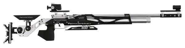 FWB MOD 800X COMP AIR RIFLE BLACK/SILVER - MED (RIGHT) 32220