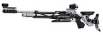 FWB MOD 800X COMP AIR RIFLE BLACK/SILVER - MED (LEFT) 32221