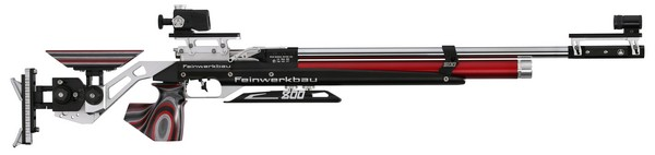 FWB MOD 800 ALUMINUM AIR RIFLE RED/BLACK - MED (RIGHT) 32250