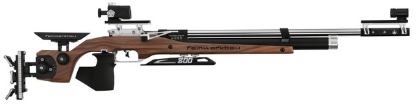 FWB MOD 800W COMP AIR RIFLE WALNUT STOCK - MED (RIGHT) 32302