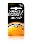DURACELL 303/357 1.5V SILVER OXIDE BATTERY 357BP