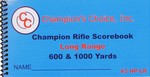 CHAMPION LONG RANGE SCOREBOOK 3HPLR