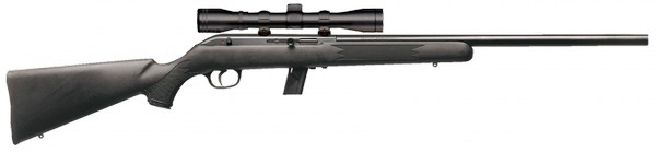 SAVAGE ARMS 64 FVXP SEMI-AUTO .22 LR RIFLE W/ SCOPE (RIGHT) 45100