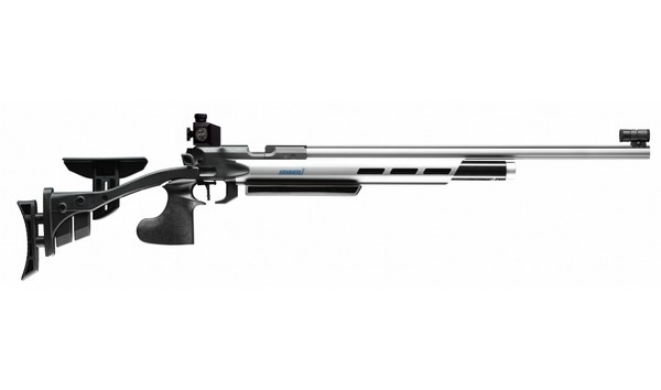 HAMMERLI AR20 PRECISION MATCH AIR RIFLE (AMBI)(SILVER) 46610002