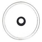 GEHMANN 22mm CLEAR APERTURE INSERT w/ BLACK RING (2.8 mm) 5422228