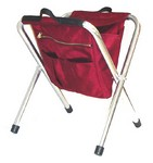 "WINE 19"" CORDURA NYLON STOOL 680B"