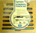 LYMAN GUNSMITH PUNCH SET 7031273