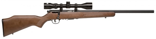 SAVAGE ARMS 93R17 GVXP .17 HMR RIFLE W/ SCOPE 96222
