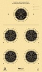 !!DISC!!KRUGER A-27 50 yd SMALLBORE RIFLE TARGETS (100 Pack) A27K