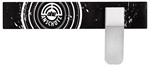 ANS HEADBAND (BLACK/WHITE) W/ TRANSPARENT EYESHIELD A317