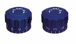 ANS KNOB SET FOR ANSCHUTZ REAR SIGHTS - BLUE A48063