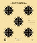 !!DISC!! KRUGER A-7/5 75ft SMALLBORE RIFLE TARGETS (250 PACK A75K