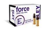 ELEY .22LR FORCE SEMI-AUTO HIGH VELOCITY (42gr.) (50 rds) AE02400