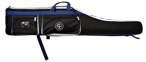 "CC 58"" DELUXE SOFT RIFLE CASE (BLACK/BLUE)(58""L x 11""W x4""D) CC3258"