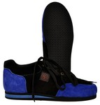 CC BLUE/BLK PISTOL SHOOTING SHOES EURO SIZE 36 (U.S. SIZE 3) CC33536