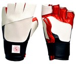 CC DELUXE SUMMER GLOVE - BLACK/RED/WHITE (XS-RHS) CC59XS