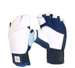 CC BLUE/BLK/WHITE SUMMER FINGERLESS SHOOTING GLOVE (XS-RHS) CC60BXS