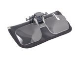 CARSON 1.5x POWER CLIP-ON, FLIP UP MAGNIFYING LENSES CF10