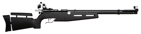 CROSMAN CHALLENGER PCP AIR RIFLE WITH No. CDPT1 SIGHT SET CH2009S