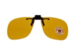 FLIP UP POLYCARBONATE LENSES - YELLOW GFO2Y