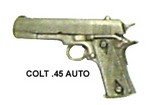COLT 45 AUTO MINIATURE PIN MT45
