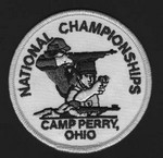 "NATIONAL CHAMPIONSHIPS PATCH(3-1/2"") NCP312"