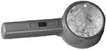 CARSON 2x LIGHTED TABLE-TOP MAGNIFIER WITH 5x SPOT PT90