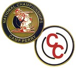 NATIONAL CHAMPIONSHIP/CHAMPION'S CHOICE CHALLENGE COIN QP0558