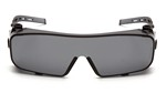 """PYRAMEX CAPPTURE """"OVER THE GLASSES"""" EYE PROTECTION (GRAY) S9920ST"""