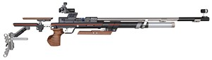"ANS 9015 IN STOCK ""ONE"" AIR RIFLE W/ 6805 SIGHTS (LG-RIGHT) 014093"