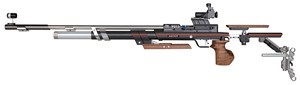 "ANS 9015 IN STOCK ""ONE"" AIR RIFLE W/ 6805 SIGHTS (MED-LEFT) 014139"