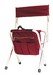 "WINE 19"" CORDURA STOOL W/BACK 681B"
