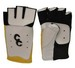 CC GOLD/BLACK/WHITE FINGERLESS SHOOTING GLOVE (L-RHS) CC105L