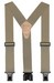 "2"" ""PERRY"" HOOK ON SUSPENDERS 48"" (TAN) SN200T"