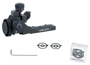 ANS 6827 BIATHLON REAR SIGHT WITH SNOW COVER 000932