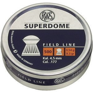 RWS .177CAL SUPERDOME PELLETS (0.54g)(4.50mm) (300 pk) 2317406