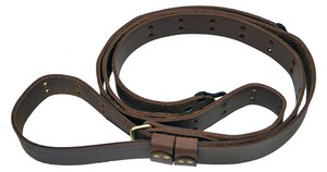 """CC 1-1/4"""" SERVICE RIFLE LEATHER SLING 54"""" 65120"""