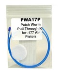 PATCHWORM PULL THROUGH CLEANING KIT - .177CAL PISTOL PWA17P