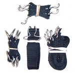5 RBU'S, 1 RSH - COMPLETE BUCKLE AND STRAP SET RCS