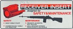 """""""RECEIVER INSERT"""" SAFETY & CLEANING TOOL RI1"""