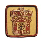 SPECIAL DISTINGUISHED RIFLE PATCH(DESERT CAMO) US ARMY ONLY SR100D