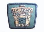 DISTINGUISHED SPECIAL RIFLE SEW-ON PATCH (US ARMY ONLY) SR100